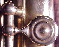 Lebret C# tone hole pad cup, ball and pillar key arm