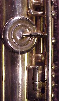 Lebret G# key pointed arm, back connector, club-shaped kicker