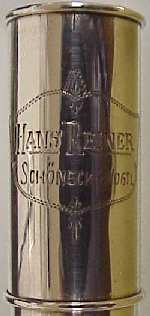 Hans Reiner #858 box engraving